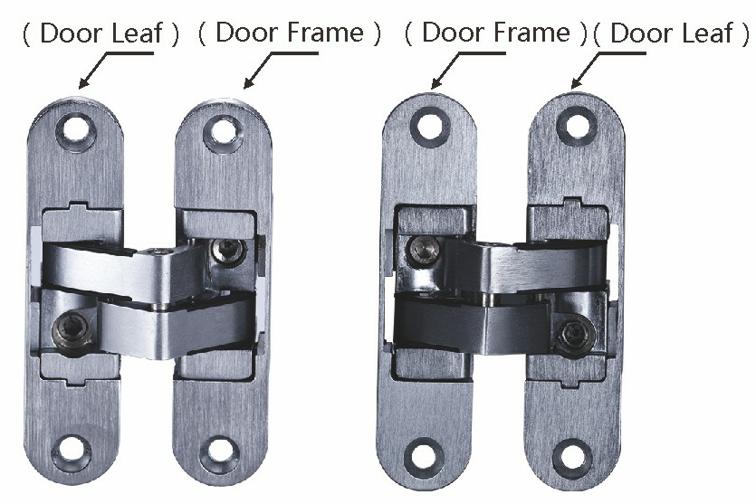 Adjustable Hinges Manufacturers Mail: China 3D Adjustable Invisible Hinge,3D Adjustable