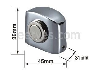 Magnetic Door Stopper-DS025