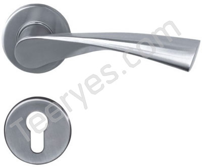 Stainless steel Solid Lever Handle