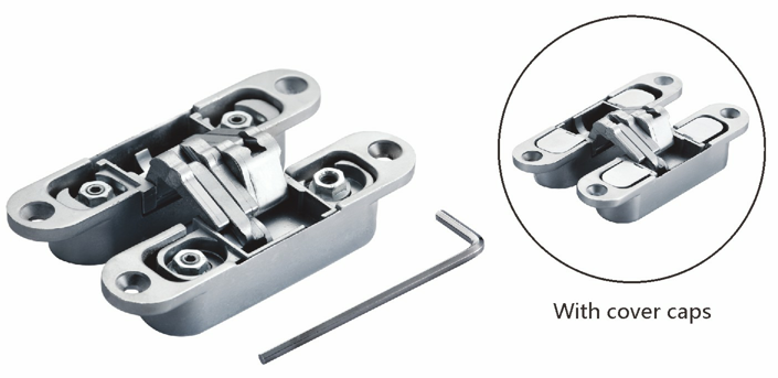 NEW 3D Adjustable Door Hinge