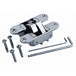 3D Adjustable Invisible Hinge