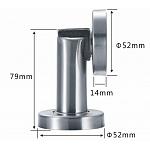 Magnetic Stop for Interior door